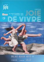 Affiche de l'exposition Joie de Vivre au Palais des Beaux Arts de Lille (du 26 septembre 2015 au 17 janvier 2016)