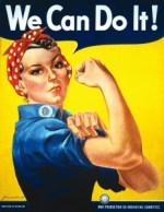 We Can Do It ! J. Howard Miller pour Westinghouse Electric, 1943, affiche de propagande américaine.