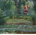 Ed Wheeler revisite une toile de Claude Monet.
