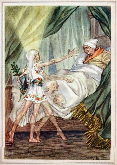 Illustration de Libico Maraja pour A Christmas Carol (Un Chant de Noël) de Charles Dickens.