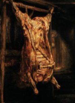 Rembrandt, Le Boeuf écorché, 1655, Musée du Louvre, Paris.
