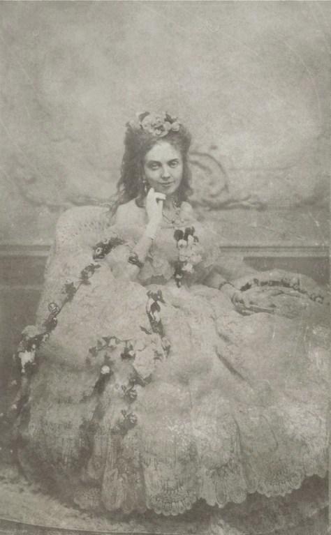 La Païva, de son vrai nom Esther Lachmann. Photographie de 1850 environ.