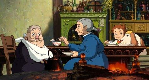 Aperçu du personnage de Mamie Sophie dans le Château Ambulant