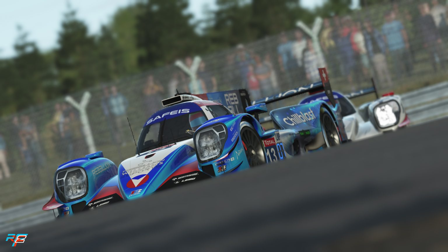 rFactor 2: Behind the scenes for Virtual Le Mans 24 Hours