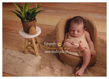 newborn fotoshoot stoel