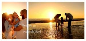 fotoshoot gezin strand