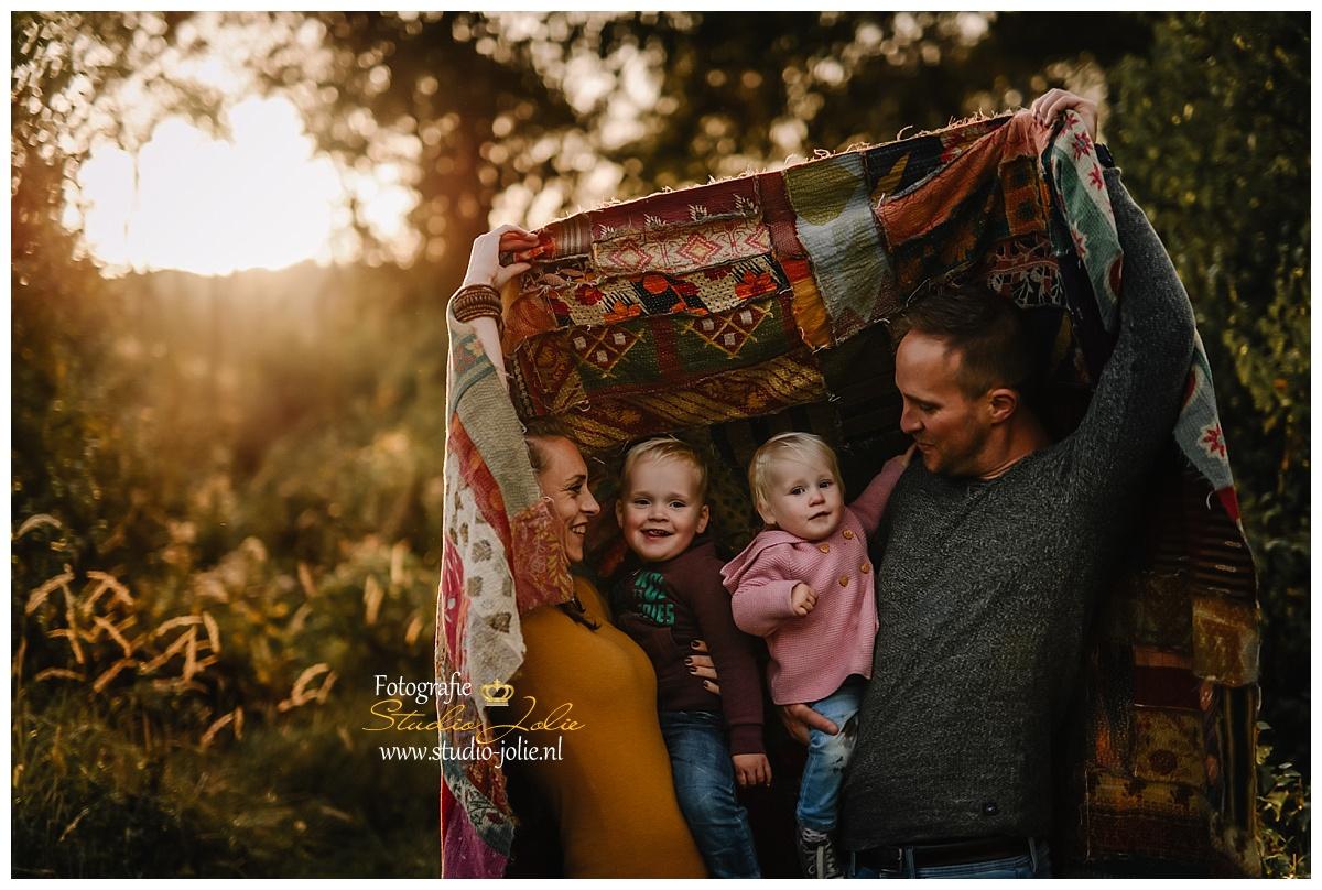 gezinsfotoshoot buiten