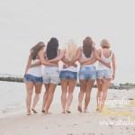 vriendinnen fotoshoot strand