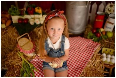 mini boerderij fotoshoot studio jolie