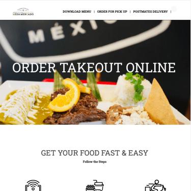 Mesa Mercado To Go