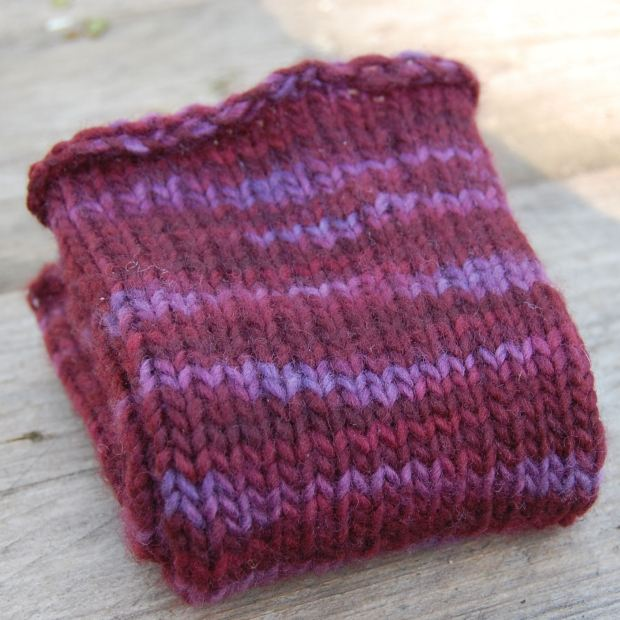 wristwarmers knitting pattern