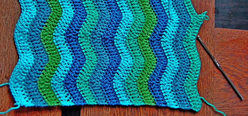 wip ripple sjaal