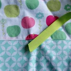 appeltjes appels apples green pink groen roze Studio Paars project bag tas tasje breitas breitasje projecttas projectttasje knitting crochet embroidery breien haken borduren haaktas haaktasje