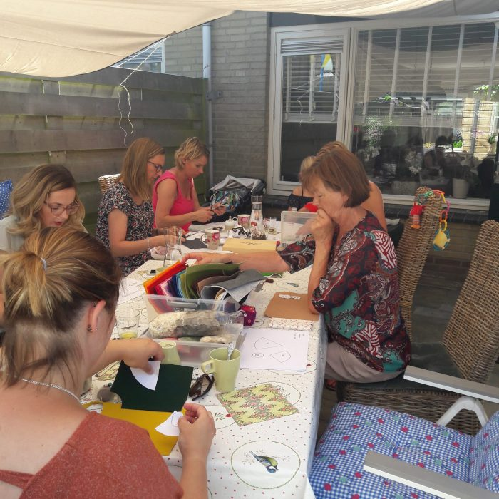 creatieve babyshower bij studio paars
