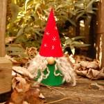 Studio Paars - kerstkabouter tussen de blaadjes - christmas gnome in the fallen leaves
