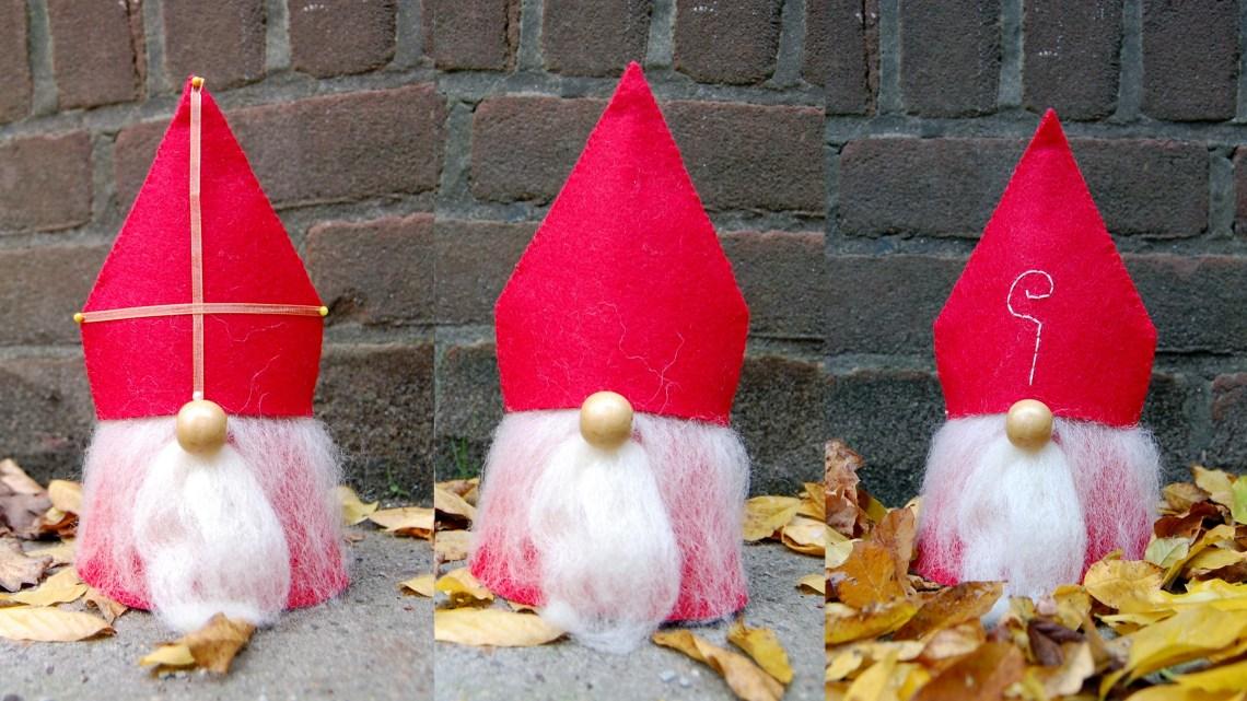 3  verschillende Sinten van vilt door studio paars