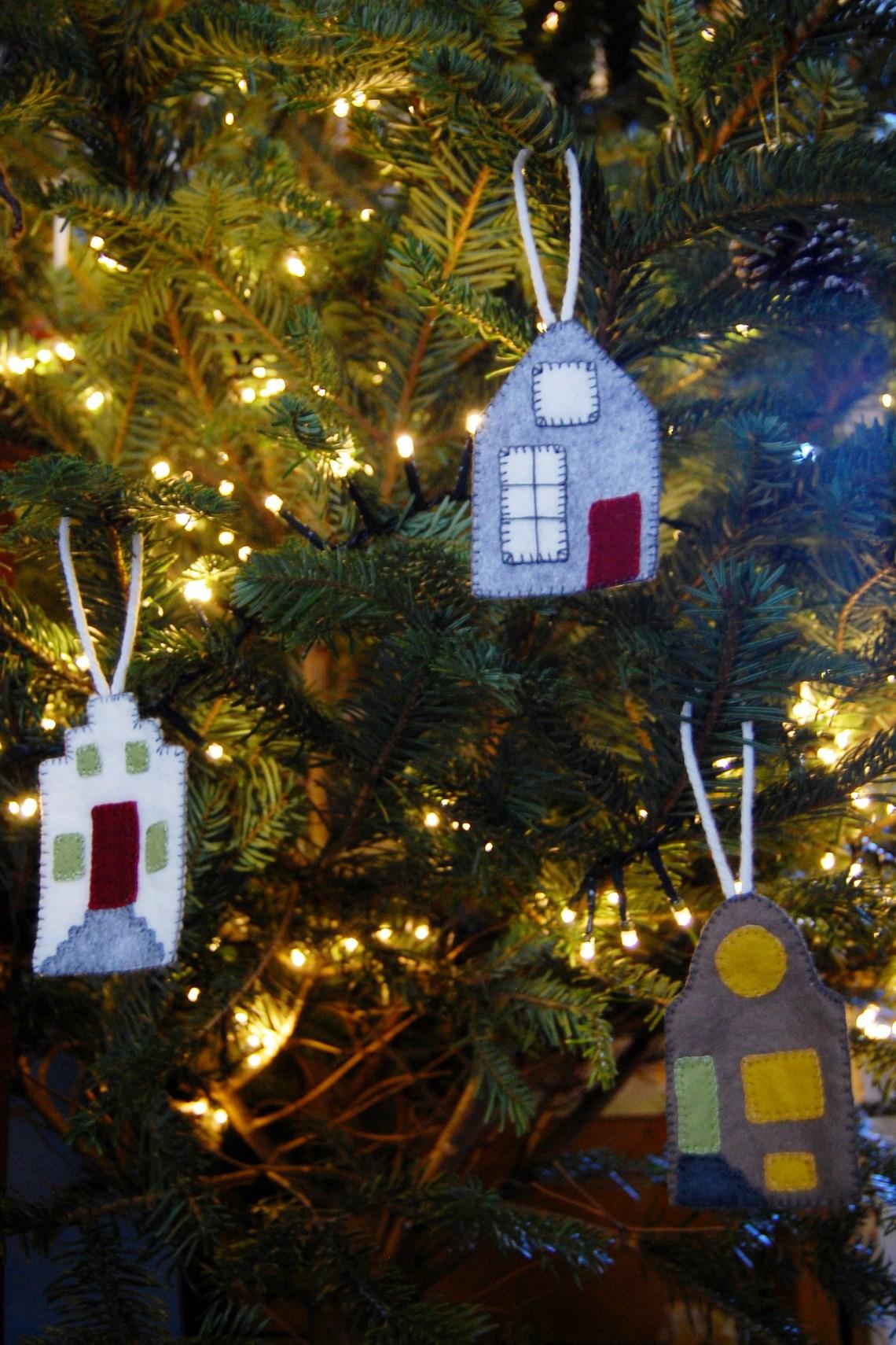 Studio Paars - hollandse huisjes kerstboom / dutch houses christmas tree