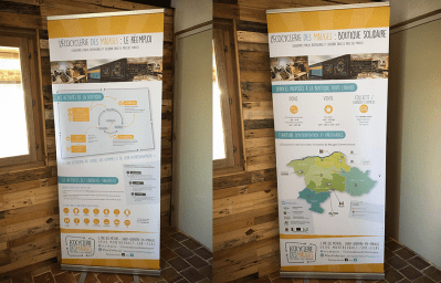 Roll-up Ecocyclerie des Mauges