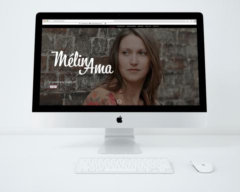 Site web Mélina Ama