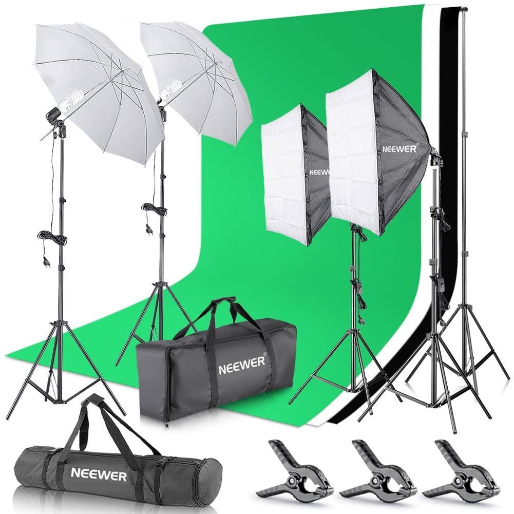 kit studio photo comparatif 2020 des