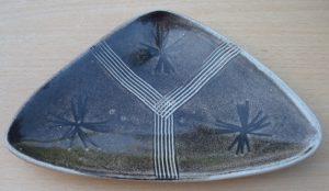 Marianne de Trey mid 1950s earthenware dish.