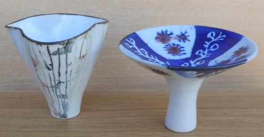 Marianne de Trey porcelain vessel forms