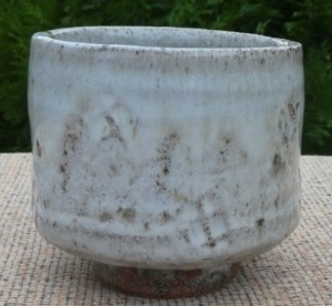 TY8 William Marshall (1923 - 2007) Teabowl with impressed decoration under the glaze. Seal mark inside the foot ring. The height is 9.9 cm (3.9 inches) and the maximum external diameter is 10.7 cm (4.2 inches). £295