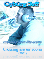 Crossing over the scene