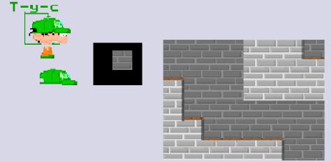 Petit Mockup de l'avancement du projet Kid Paddle en jeu-vidéo début des années 2000.
