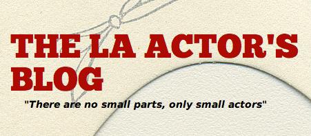 La Actor's Blog