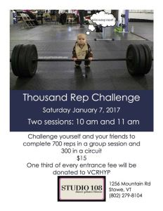 2017 Thousand Rep Challenge Stowe VT
