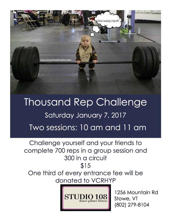 2017 Thousand Rep Challenge