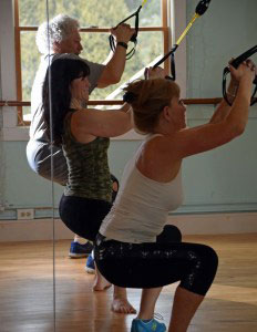 TRX fun group fitness classes