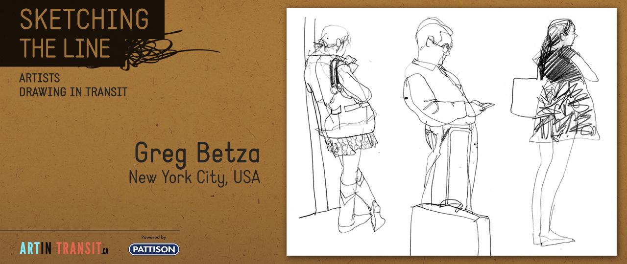 Sketching The Line | Greg Betza