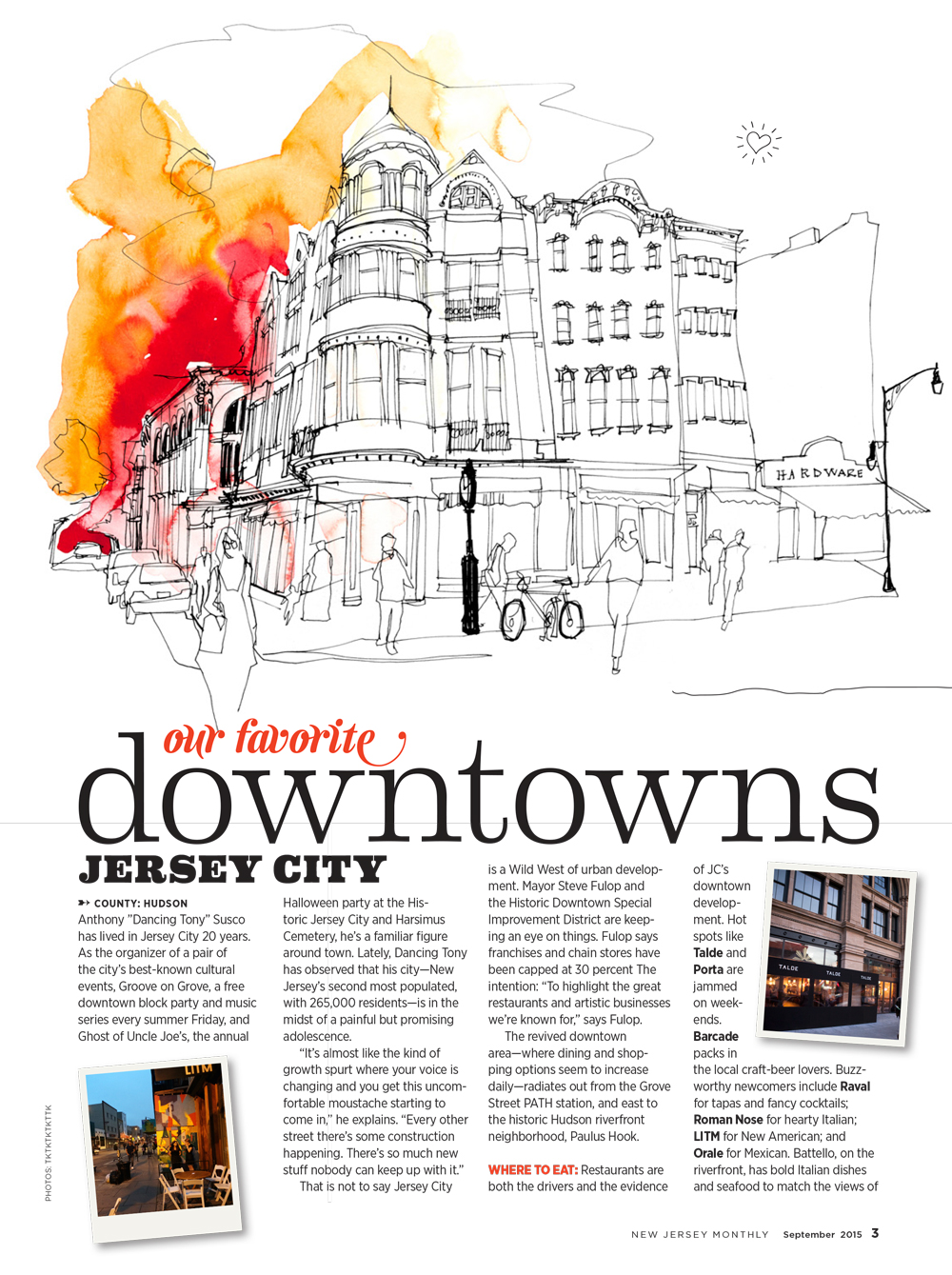 New Jersey Monthly Downtowns | Greg Betza