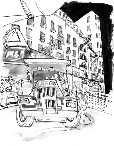 Life on Second Avenue | Dominick Santise