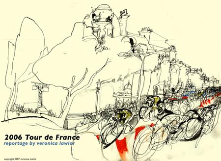 2006 Tour de France   Veronica Lawlor
