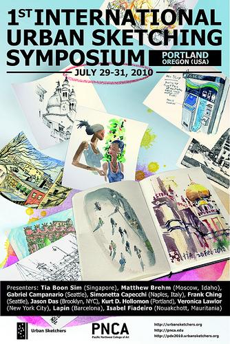 1st International Urban Sketchers Symposium in Portland Oregon