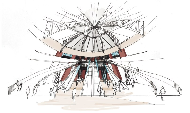 Citifield Jackie Robinson Rotunda | Greg Betza