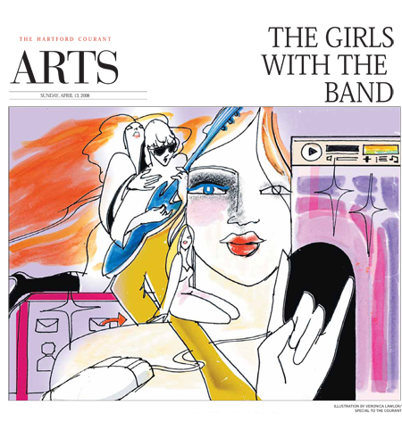The Girls with the Band - Hartford Courant | Veronica Lawlor