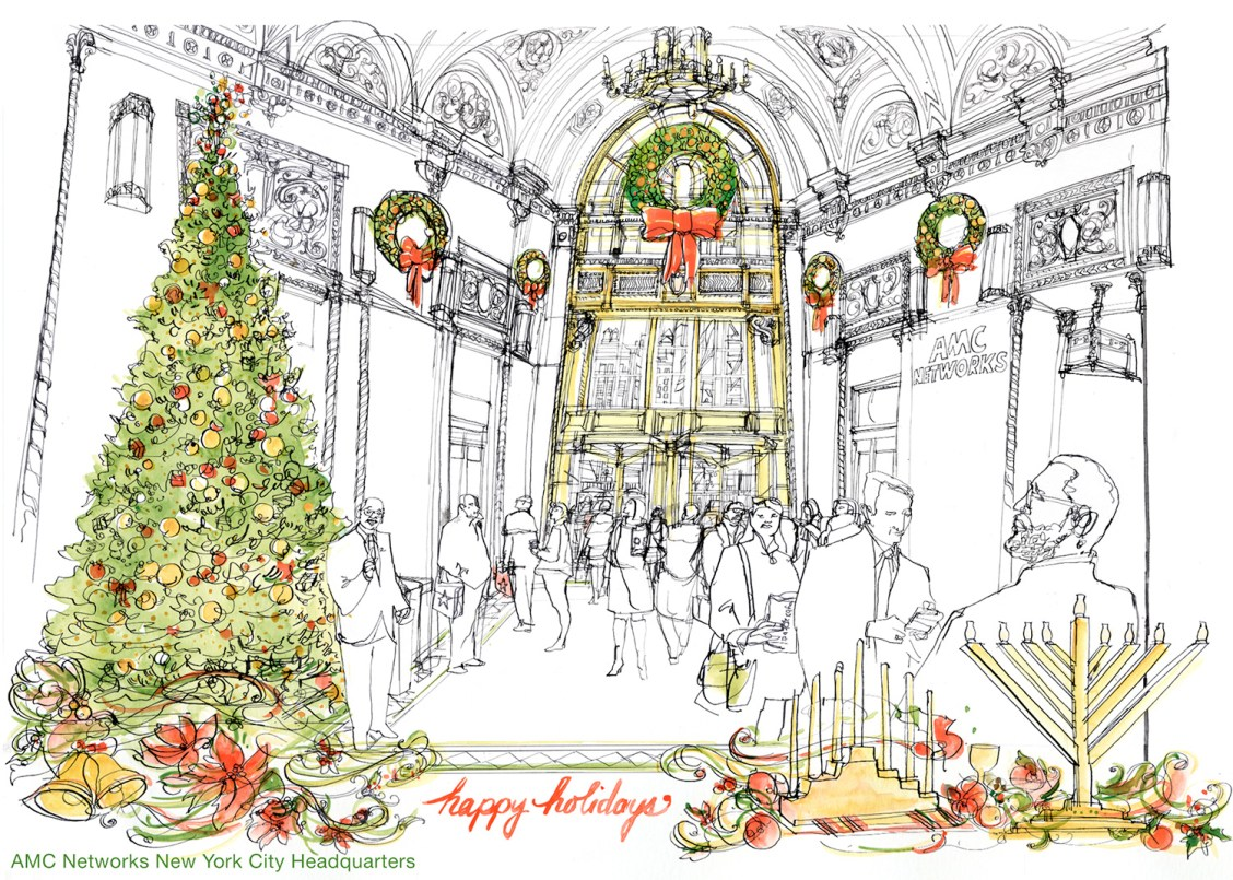 Holiday - Studio 1482 Illustration