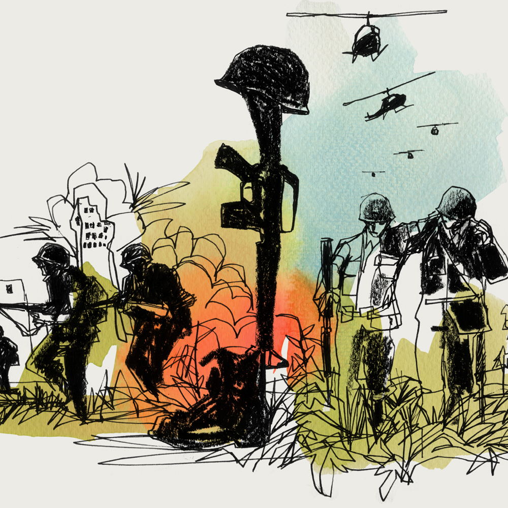 Vietnam illustration
