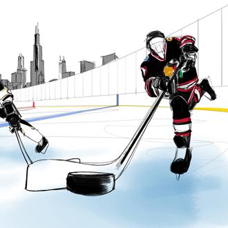 NHL Stadium Series animation