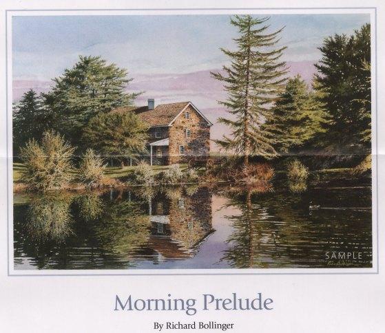 "Morning Prelude 21""x30"""