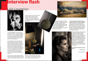 2018Interview flash Luis Lourenço MAG
