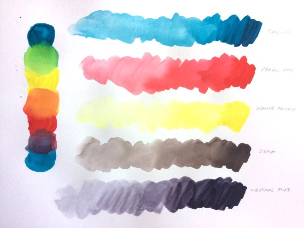 M. Graham Watercolor Paints Review blog post. The blog of Rachel Weaver, Freelance Artist and Designer Geraldton.