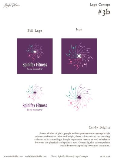 SPINIFEX FITNESS palette exploration 2