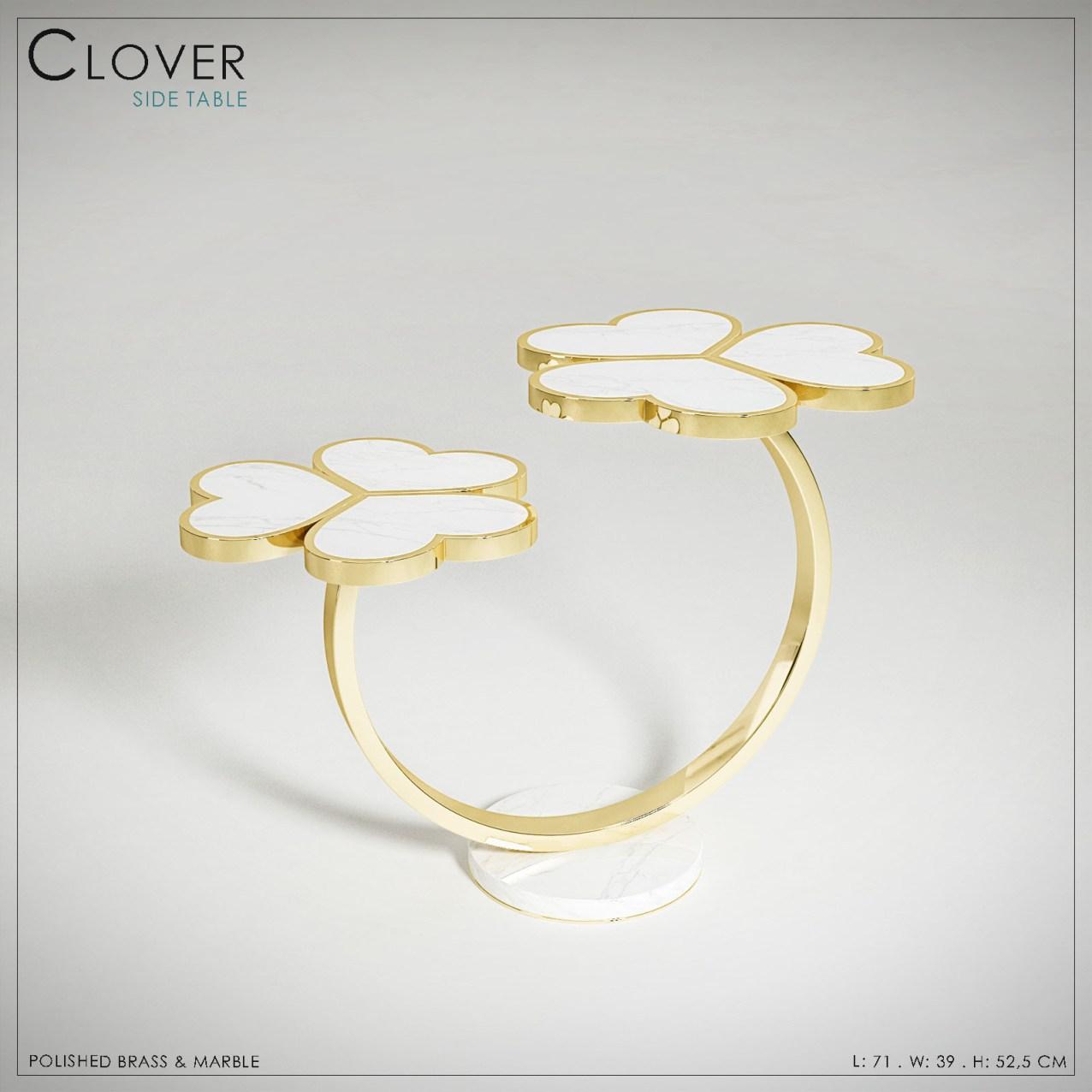 CLOVER Side Table_GALERIE