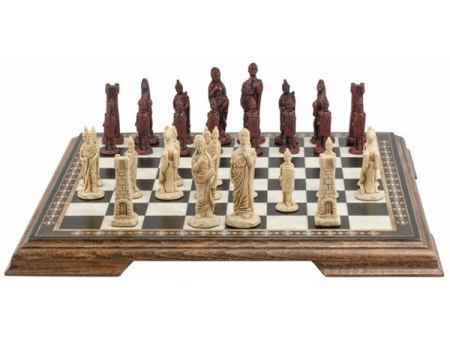 Mini Roman Chess Set