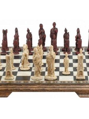 Mini Roman Chess Set